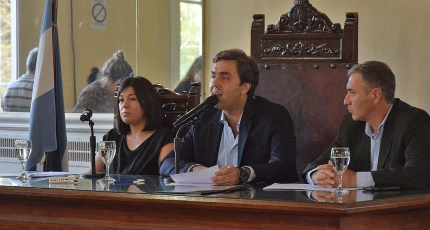El intendente abrió las sesiones ordinarias del Concejo