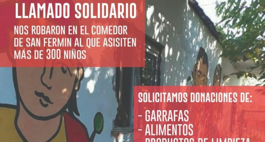 Robaron garrafas y mercaderías en comedor de Barrio San Fermín