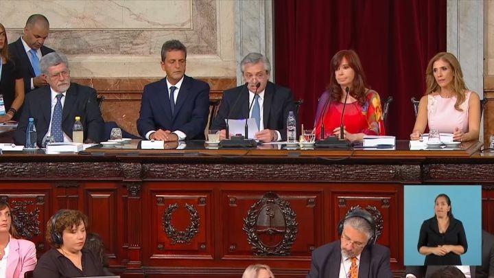 El análisis económico del discurso de Alberto Fernández