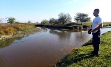 Inundados de Luján denunció contaminación en la naciente del río