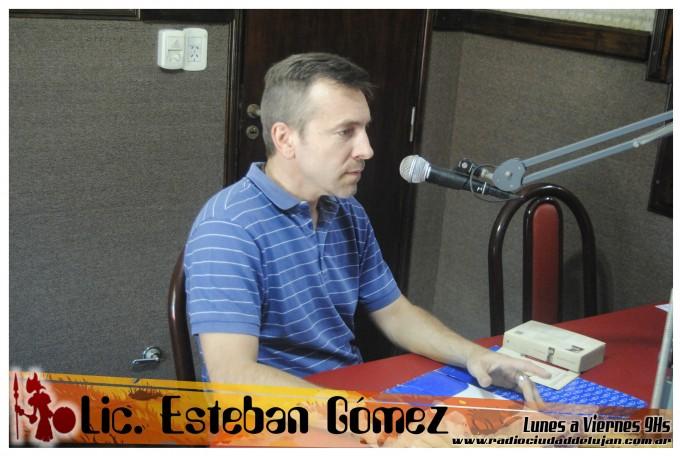 """Lic. Esteban Gómez sobre """"los que escapan al consumismo"""""""