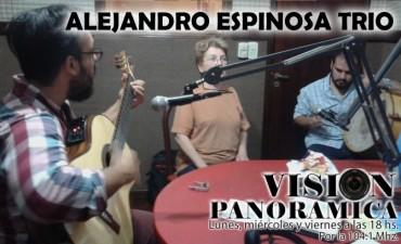 Alejandro Espinosa Trio en Visión Panorámica