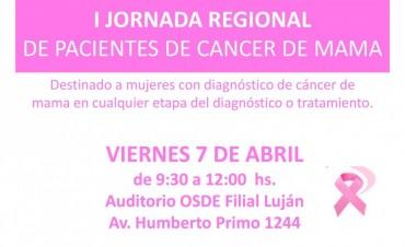 Se realizará la primer jornada de pacientes con cáncer de mama
