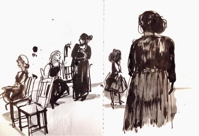 """Teatro: estrenan """"La casa de Bernarda Alba"""""""
