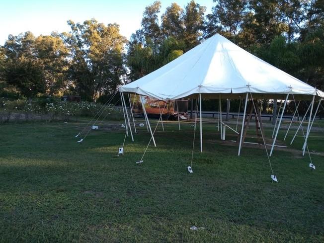 Desbarataron una fiesta en un campo de polo