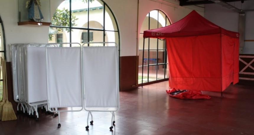 Ante la crítica situación sanitaria, reabren el centro de aislamiento de Villa Maristas