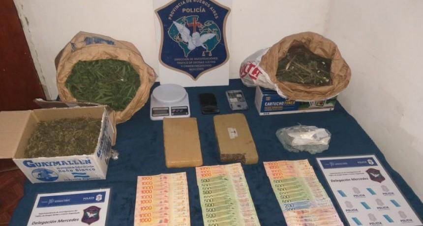 Hallanamientos y detenciones por venta de drogas
