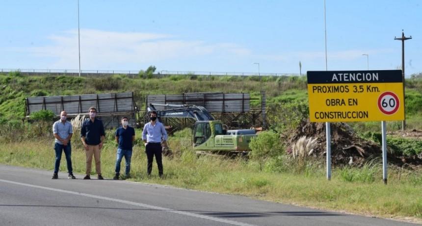 Se pusieron en marcha las obras complementarias en Autopista 5