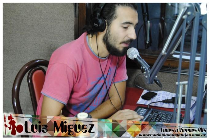 """Luis Miguez y dos canciones dedicadas a """"hijos"""""""