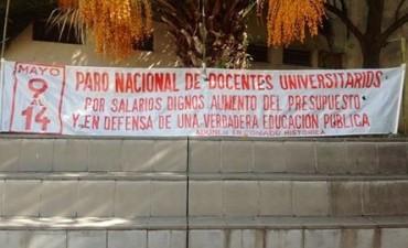 Otra semana de paro en las universidades nacionales
