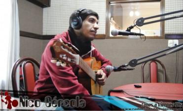 Nico Cércola se presentó en La Trova
