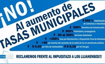 Alerta por aumento de tasas municipales