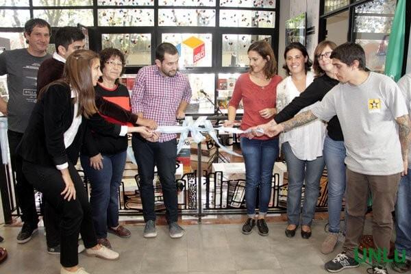 Se inauguró El Cubo. Espacio multicultural y de difusión editorial en la Universidad Nacional de Luján