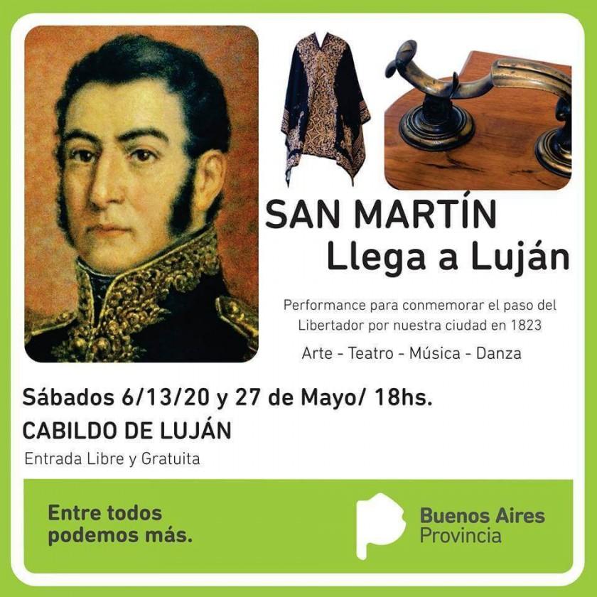 San Martín llega a Luján