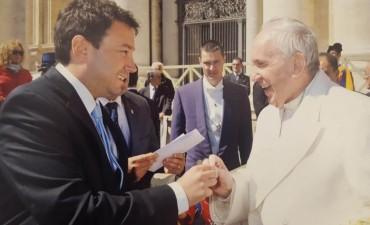 Quarenta visitó al Papa Francisco