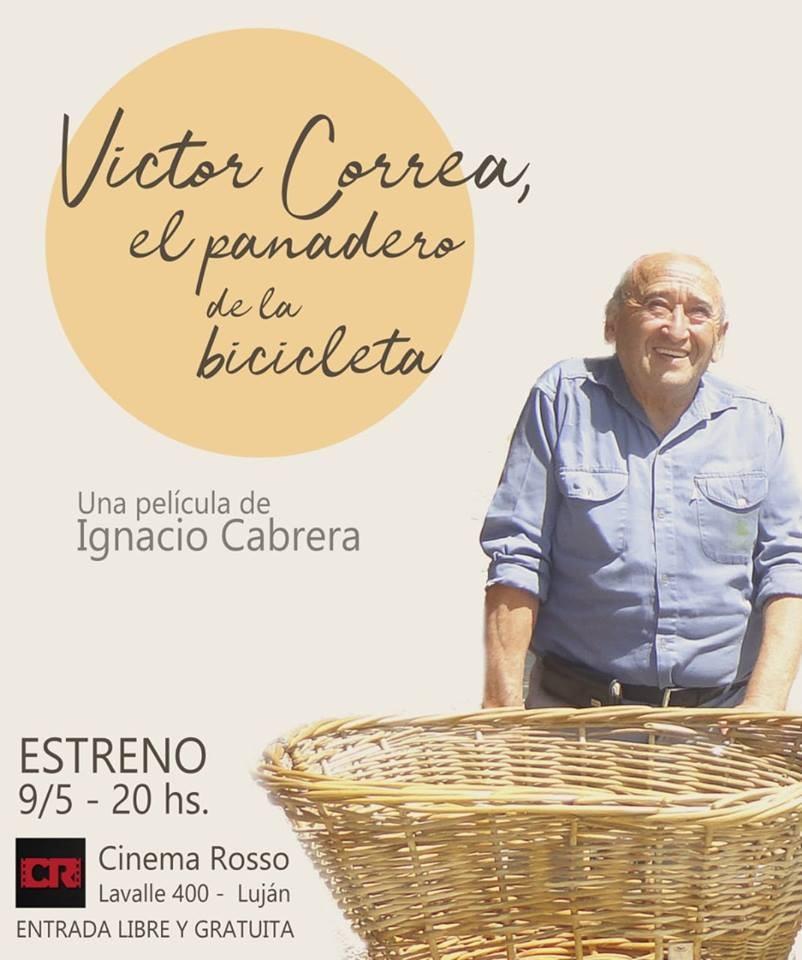 """Presentan película """"El panadero de la bicicleta"""""""