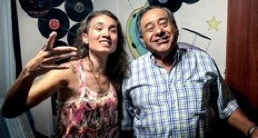 Florencia Dedieus y Angel Pereyra juntos en