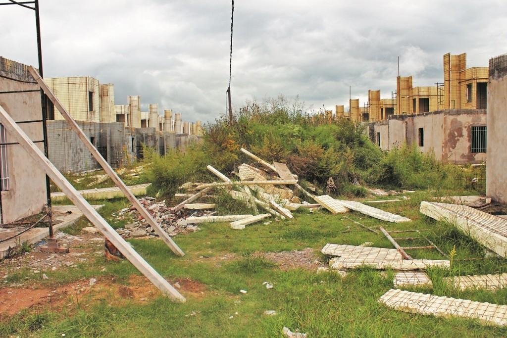 """""""Viven en la zona de inundación por una situación social injusta"""""""