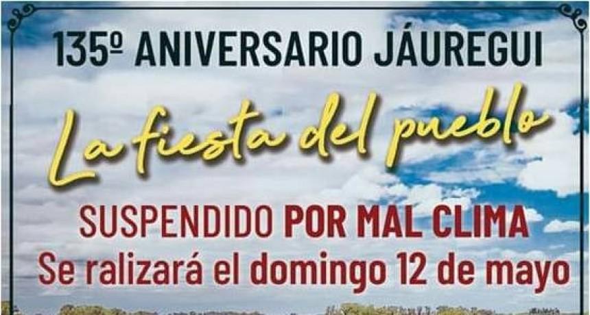 Invitan a la Fiesta Aniversario de Jáuregui