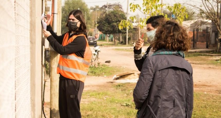 Detectar: no se hallaron casos sospechosos en las 574 casas relevadas en Villa del Parque