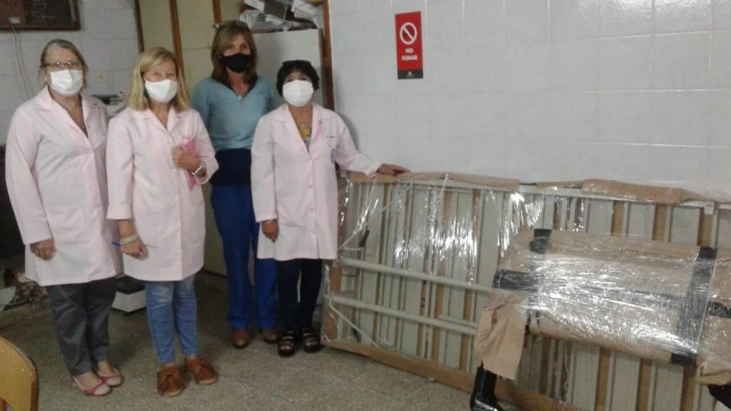 Las Voluntarias del Hospital gestionan instrumentos para armar un Showroom Pediátrico