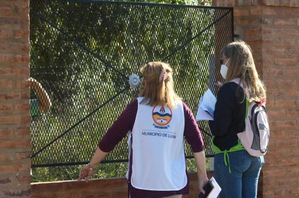 Operativo Detectar: se relevaron más de 90 viviendas en el barrio Villa del Parque