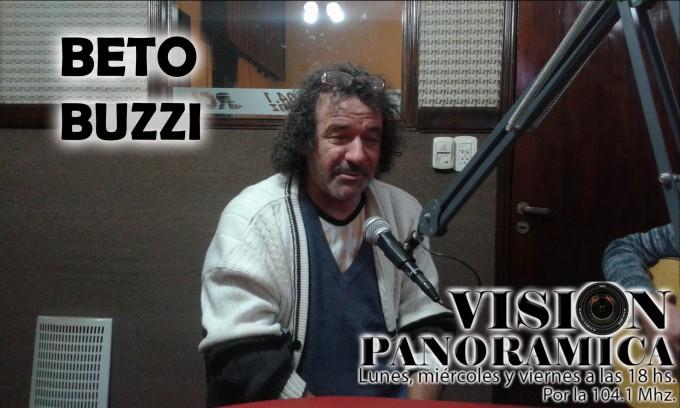 Improvisado acústico de Beto Buzzi y Maxi Conti