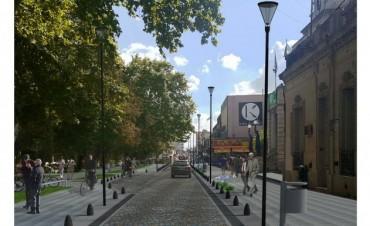 Esperan fondos para semi peatonalización de la calle San Martín
