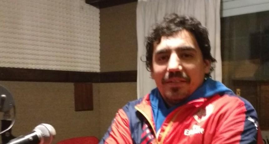 """Santiago Garate: """"Somos un equipo agresivo, nos gusta salir a jugar de igual a igual""""."""