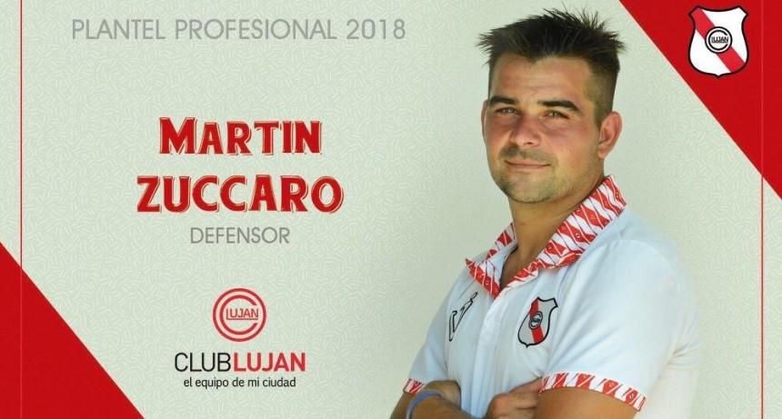 """Martín Zúccaro: """"Luján es un club que llegas y terminas siendo hincha"""""""