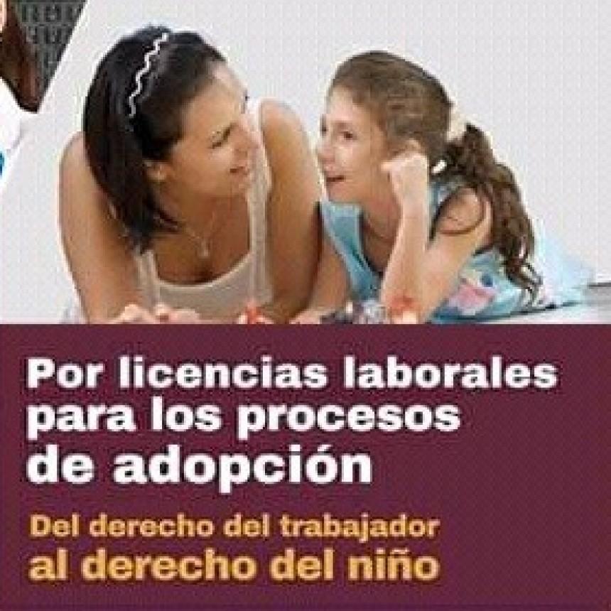 Impulsan licencias laborales durante procesos de adopción