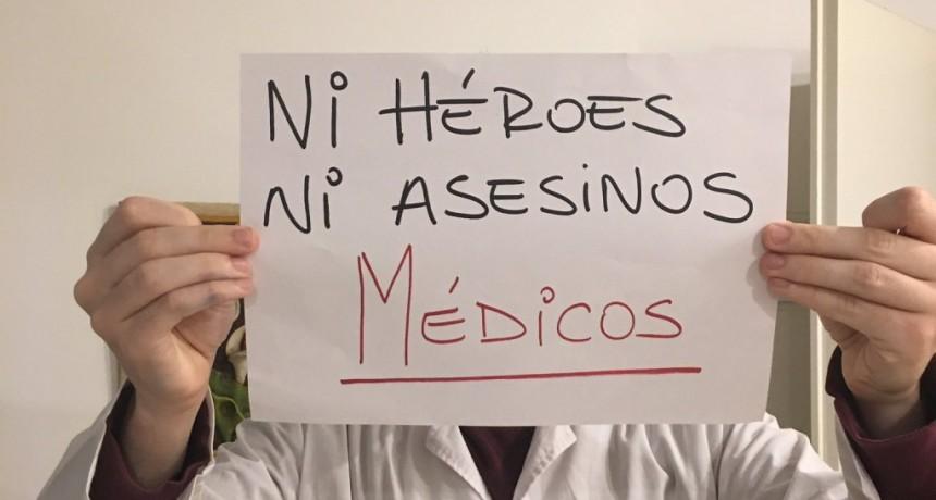 Los médicos alzaron la voz en medio de la emergencia sanitaria