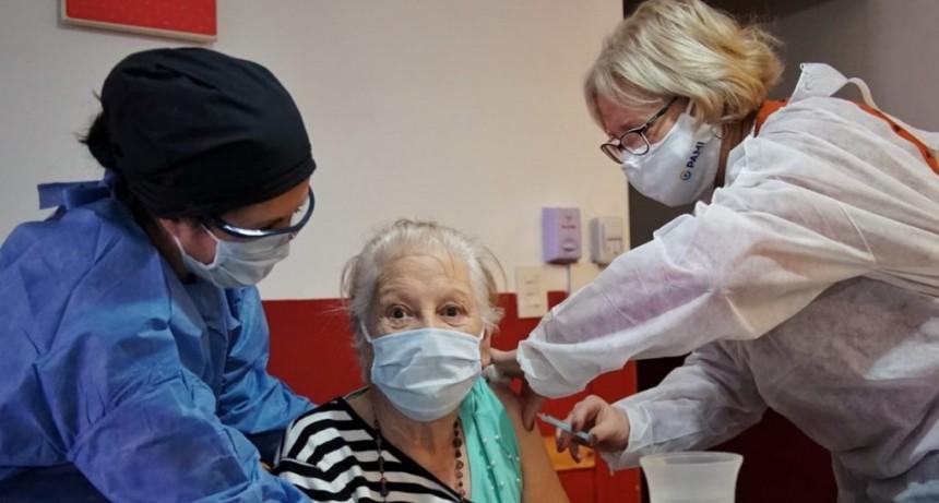 Concluyó la vacunación en residencias y geriátricos