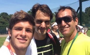 Tras su gira europea, Capalbo acompañará al equipo argentino de Copa Davis
