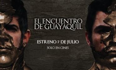"""Hoy se estrena """"El encuentro de Guayaquil"""""""