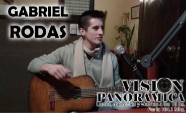 Gabriel Rodas en acústico de viernes