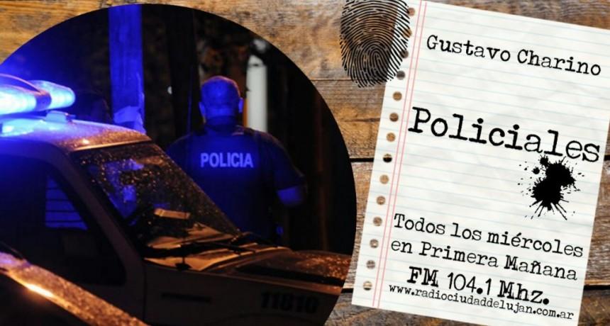 Detuvieron a sujeto que robaba vestido de policía