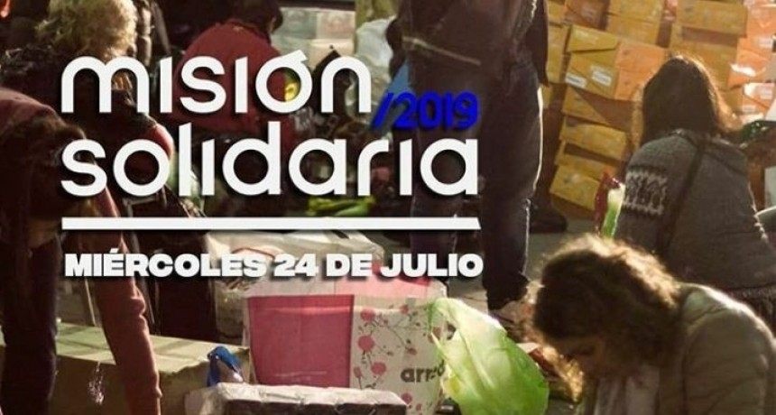 Luján se suma a la Misión Solidaria 2019