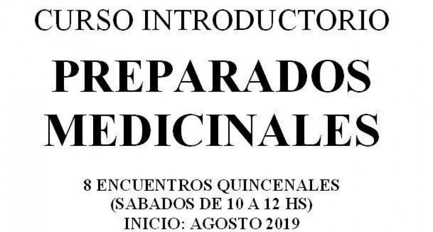Curso de preparados medicinales a beneficio del PREC