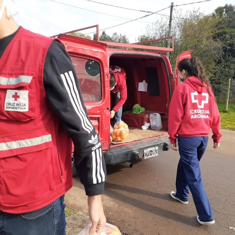 Cruz Roja: capacitaciones virtuales y actividades solidarias
