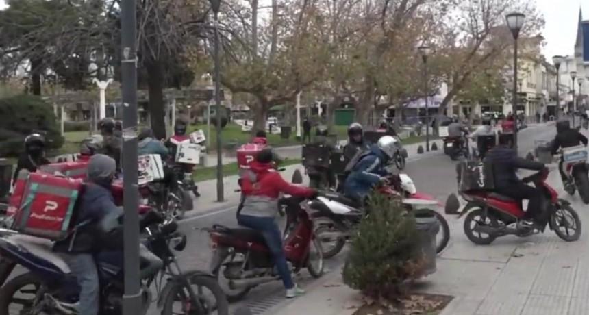 """""""Anoche vimos más presencia policial y la semana que viene patrullarían con 14 motos"""""""