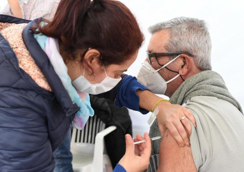 """""""El 89% de la población objetivo ya está vacunada"""""""