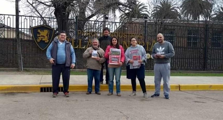 Sin unidad, la Izquierda presentó lista para las próximas elecciones