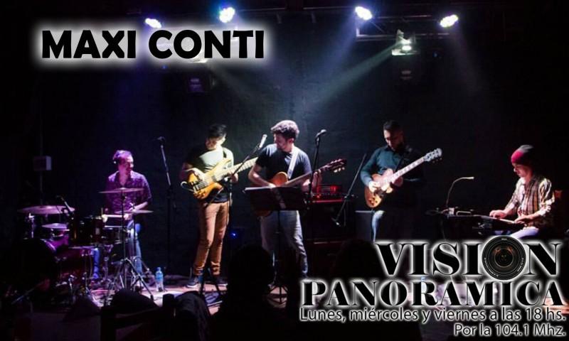Maxi Conti en el cierre musical de Visión Panorámica