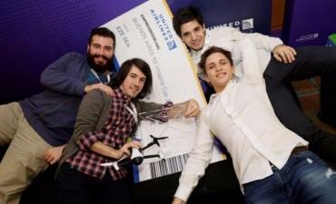 Joven lujanense en equipo premiado por Microsoft