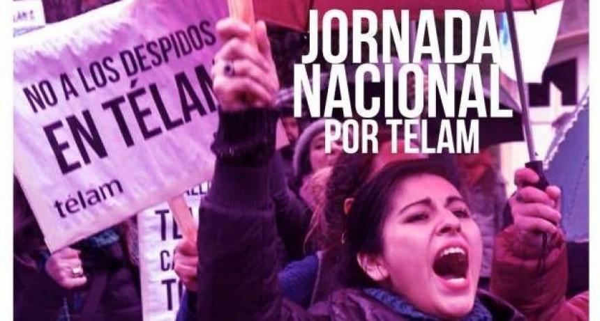 Jornada de solidaridad con los trabajadores de Télam