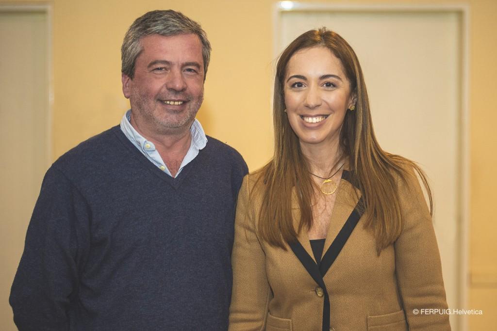 Fernando Casset presente en el cierre de campaña de Vidal y Macri