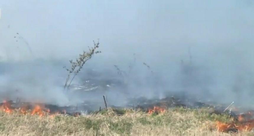Preocupación por incendios intencionales en Los Aromos