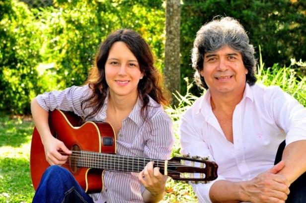 Dúo Humberto Falcon y Fernanda Dupuy, desde Chaco a Luján.