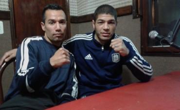 Boxeo Profesional: Papeschi y Medina nos visitaron en la previa del festival